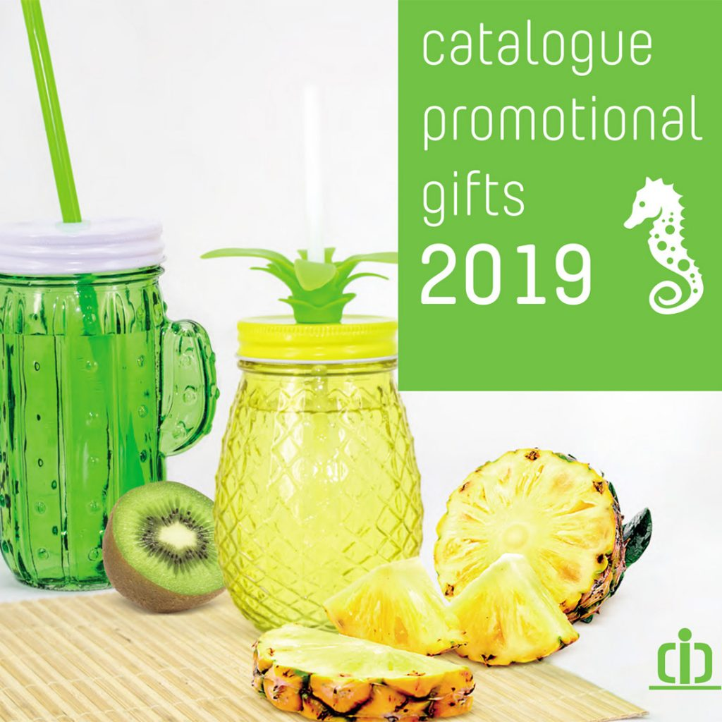 portada catálogo promotional catalogue 2019